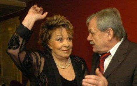 Jiřina Bohdalová a Karel Šíp si pěstují jeden rituál.