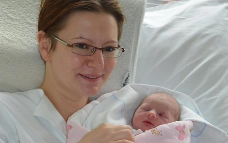 Alička Kašná vážila po narození 2940 gramů a měřila 49 centimetrů.