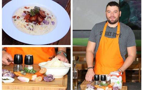 Šéfkuchař Michal uvařil skvělou kyselicu.
