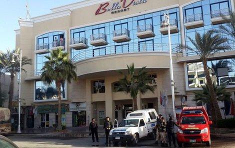 V tomto hotelu došlo ke krvavému incidentu.