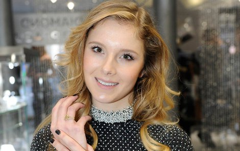 Finalistka České Miss 2014 Gabriela Bendová.