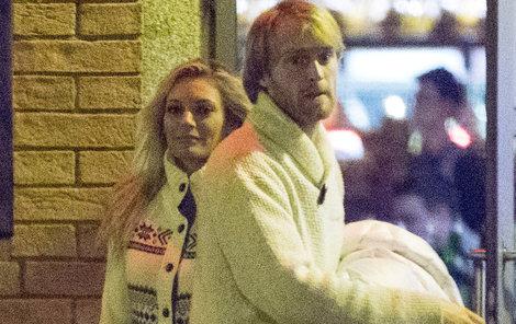 Lucie s Jakubem po večeři vypadali spokojeně.
