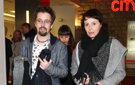 Jan Dolanský a Lenka Vlasáková