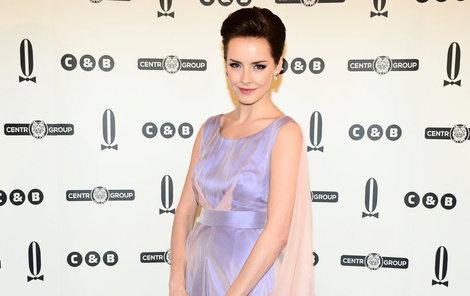 Česká Miss Gabriela Kratochvílová (25) na loňském Plesu v Opeře.