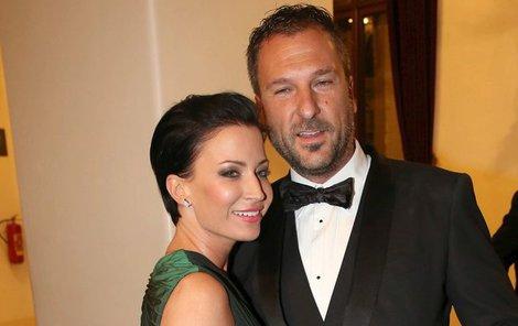 Gábina Farnbauerová - Partyšová a její manžel Daniel Farnbauer
