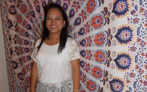 Filipínská duchovní léčitelka Estela Palaris Orbito u nás působí čtvrtý rok.