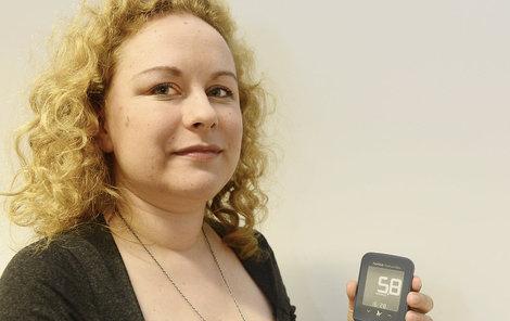 Listopad 2015. Kristýna začala s diabetickou dietou.