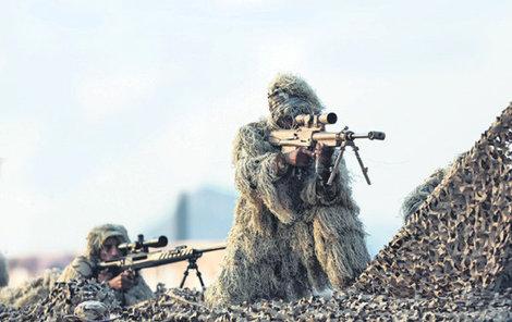 Speciální jednotky Saúdské Arábie.