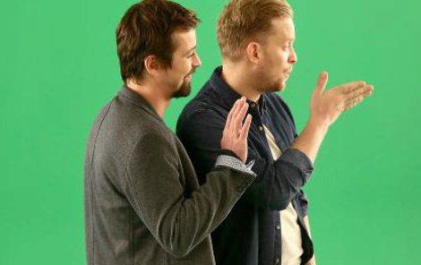 Jakub a Jan ještě ani nezačali vysílat, a už mají problém.