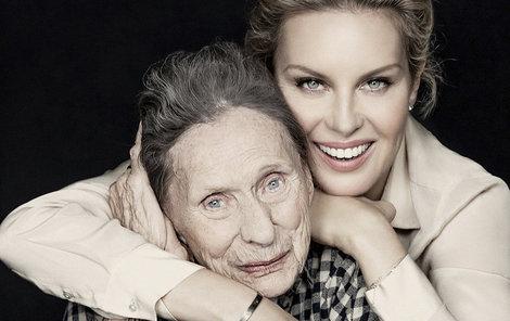 Během focení fotografií se seniorkami z domova důchodců byla Simona naměkko.