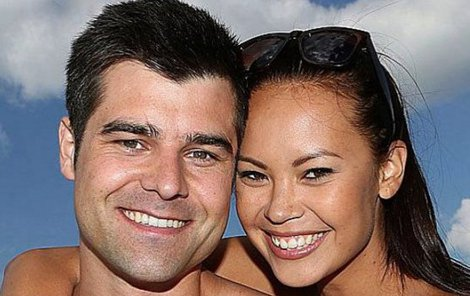Monika s přítelem Martinem