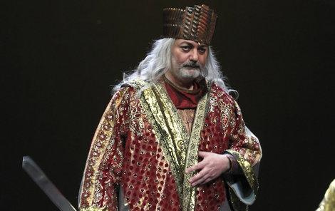 Na generální zkoušce měl král Šalamoun tenisky.