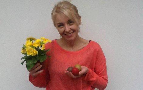 O Velikonocích vyrazila Veronika Žilková (53) na chalupu do Orlických hor.