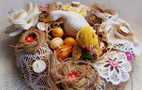 Vyrobte si velikonoční věneček!