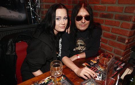 Brichta se svou manželkou Johankou (Joanna Pawliszynová), která je o celých 23 let mladší.