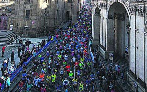Na trať se vydalo neuvěřitelných 11 500 běžců.
