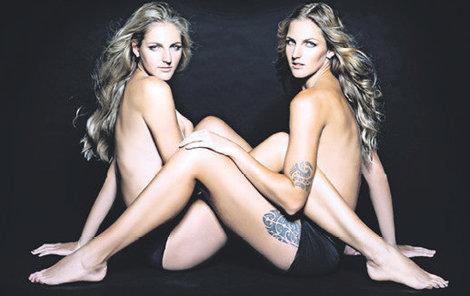 Sestry Kristýna (vlevo) a Karolína Plíškovy jsou nejen skvělé tenistky.