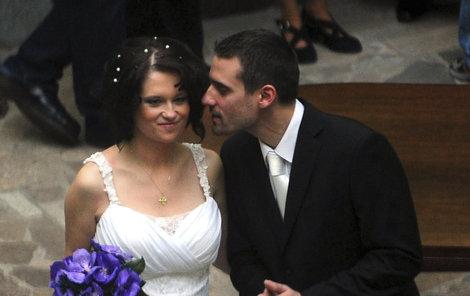 Za Josefa Volemana se provdala v roce 2010.