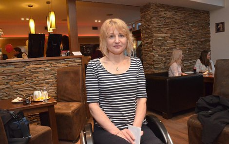 Hana Volfová skončila na vozíku po stříhání nehtů.