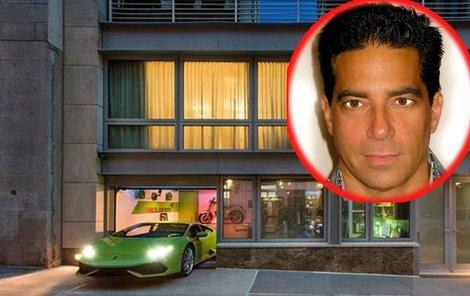 Byt o rozloze 604 m² leží na newyorském Manhattanu.