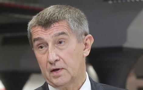 Šéf ANO a ministr financí Andrej Babiš.