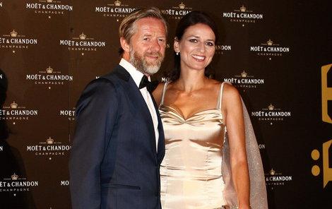 Manželský pár Adéla Gondíková a Jiří Langmajer.