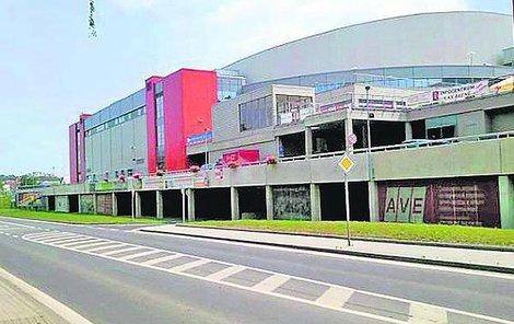 Sportovní hala – KV Areny.