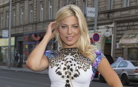 Sexbomba z Top Star magazínu Eva Perkausová.