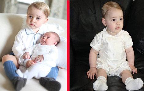 Prince (nalevo) a jeho dvojník (napravo) jsou téměř k nerozeznání.