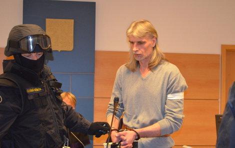 S vraždami nemám zcela nic společného, tvrdil včera u soudu Večeř.