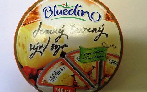 Sýr Bluedino jemný tavený s Ementálem 140 g od firmy SERTOP!
