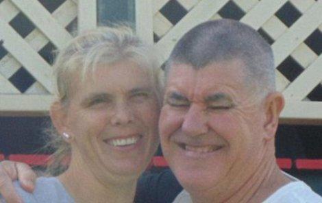 Heather s manželem.