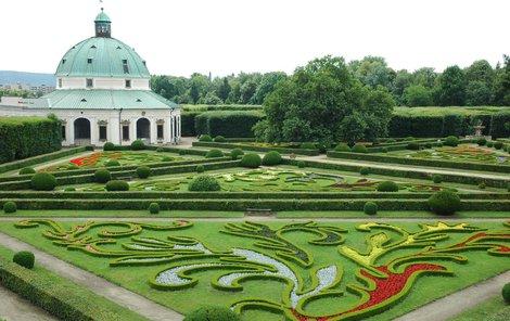 Kroměřížská květná zahrada je na seznamu památek UNESCO.