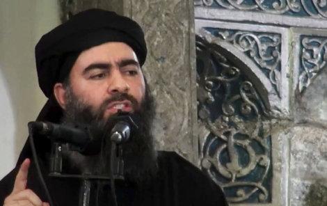 Terorista abú Bakr Bagdádí (44).