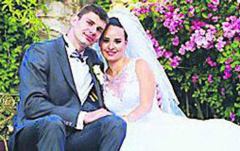 Juraj si Simonu vzal přesně před rokem.