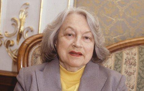 Adina Mandlová na Dobříši prožila poslední dny svého života.