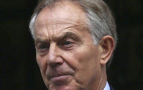 Expremiér Tony Blair.