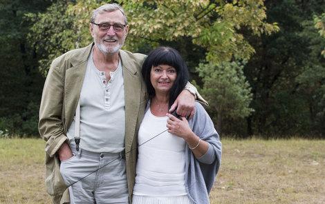 S partnerkou Gábinou.
