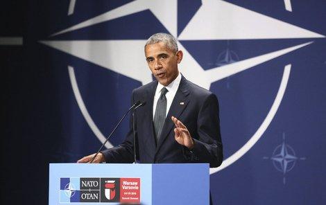 Americký prezident Obama.