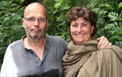 S manželem Zdeňkem.
