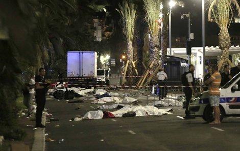 Řidič podle svědků kličkoval a úmyslně najížděl do míst, kde stálo nejvíc lidí.