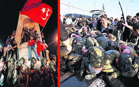 Bezpečnostní síly odvrátily pokus o vojenský převrat v Turecku!