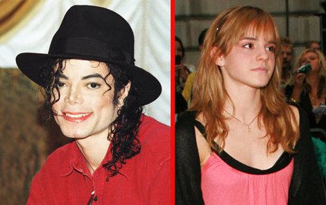 Michael Jackson se prý chtěl oženit s Emmou Watson!