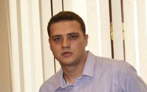 Václav Chaloupek mladší jde za loupež do vězení na tři roky.