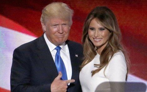 Projev Trumpovy manželky nebyl tak úplně z její hlavy...