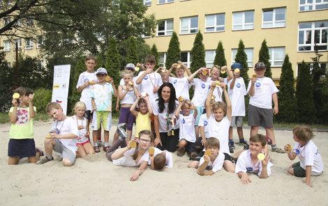 Šárka Kašpárková pomáhá dětěm plnit jejich sny!