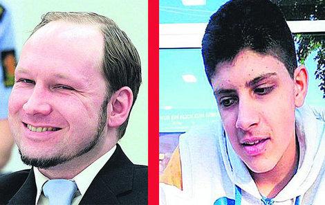 Anders Breivik byl pro mladého vraha inspirací...