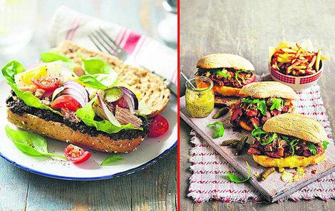 Luxusní domácí sendviče!