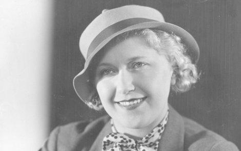 Olga Scheinpflugová byla uznávanou herečkou i spisovatelkou.