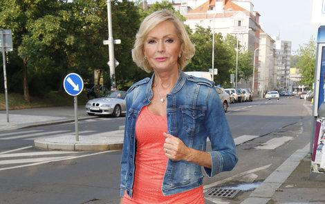 Helena Vondráčková si používáním konopné masti pěkně zavařila.